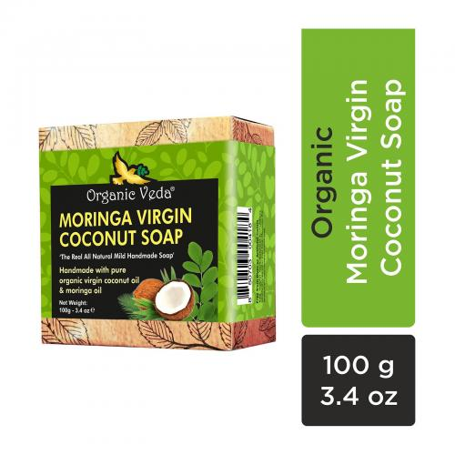 Moringa Virgin Coconut Soap